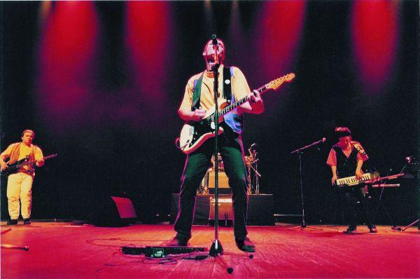 Roger Cactus sur scène